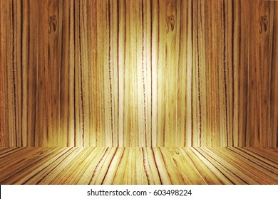 Blur texture of wood surface with table floor  for background