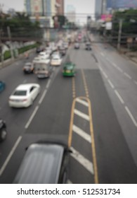 Blur traffic at the city.