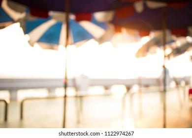 blur umbrella background