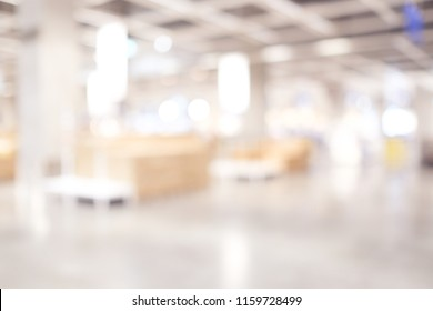 Blur warehouse factory storage background, Shipping merchandise in warehouse storage room background, Blur factory and products with bokeh light backdrop, banner