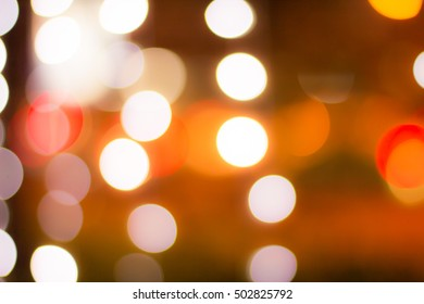 Blure Bokeh background