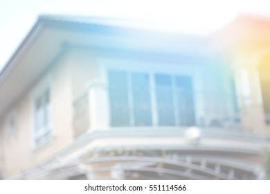 Blurred abstract background of Buildings