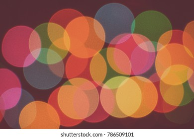 Blurred abstract christmas lights background.