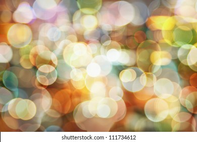 Blurred abstract pattern - circle light photo background
