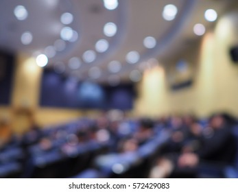 Blurred Auditorium background