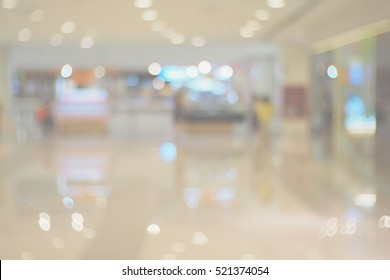 Blurred  background abstract and can be illustration to article of In the mall