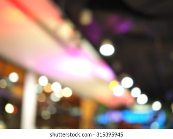 "Blurred for background an ""Abstract Crowd and Lights"""