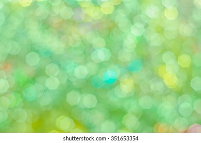 Blurred background with bokeh lights