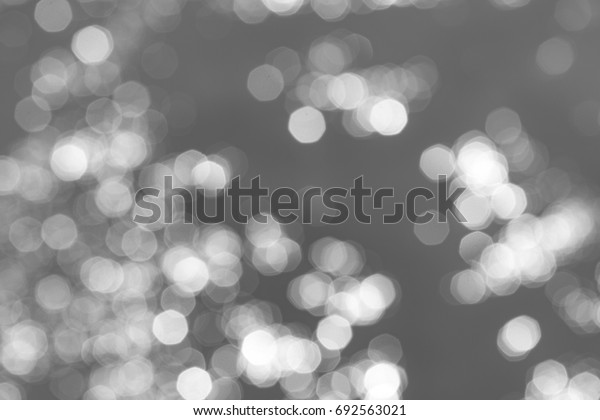 Blurred background bokeh white on a light