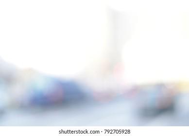 blurred background , city lights