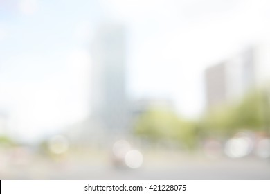 blurred background, city live