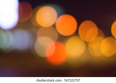 Blurred Background Colored Light spots. Design for Presentation. Abstract Festive, Christmas, Holiday, Party Background.