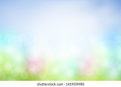 Blurred background Feel the soft. For banner