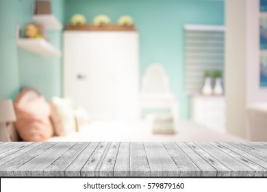 blurred background of home bedroom - Bedroom Background