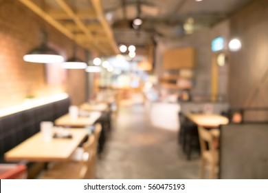 Blurred background image of japan restaurant