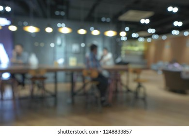 Blurred Background of office