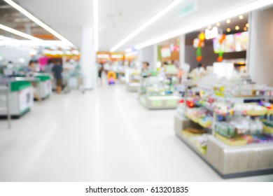 BLURRED BACKGROUND SHOPPING MALL