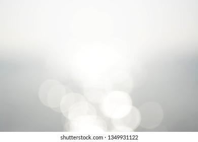 blurred background, sparkling water