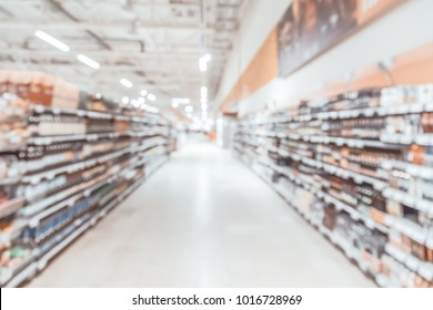 Blurred background-abstract blur shopping mall store interior.