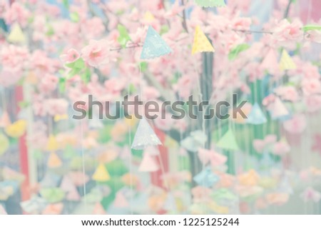 Blurred Background Lucky Draw Game On Wishing Stock Photo Edit Now
