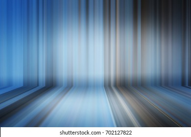 Blurred bending wall with lines background gradient