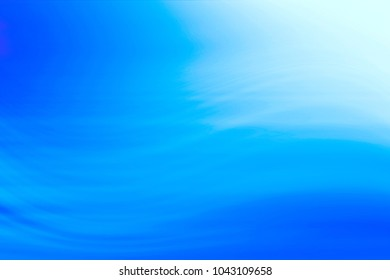 blurred blue background / gradient fresh transparent design background, blue abstract wallpaper