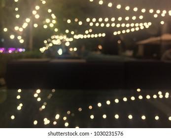 blurred boke cafe background