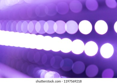 Blurred bokeh background colorful abstract neon lights defocused night life