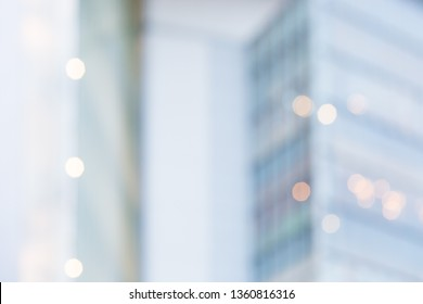 BLURRED BUSINESS BACKGROUND