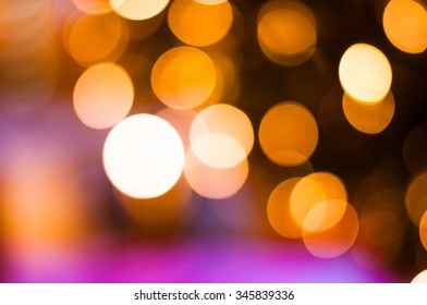 blurred colorful of bokeh background.