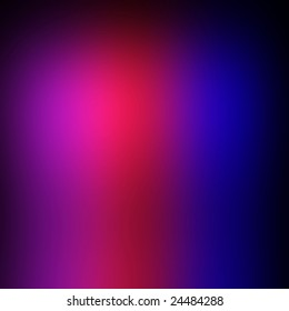blurred colors in purple, red, and blue
