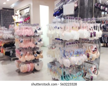 b331b5f83d Blurred Department Lingerie Woman Shopping Mall Stock Photo (Edit ...