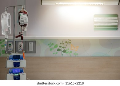 Blurred donate blood bag on drip automatic hospital medical device safe patients life hope, recover, survive from cancer, surgery,  thalassemia, dengue, disease, fever, high pressure, icu coma, injury