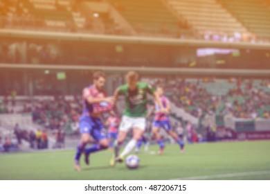 Blurred football league