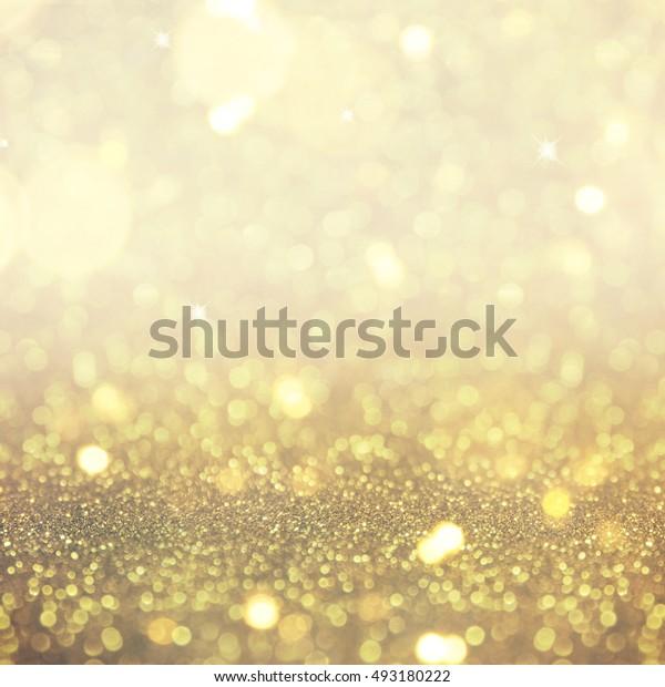 Blurred glitter lights background
