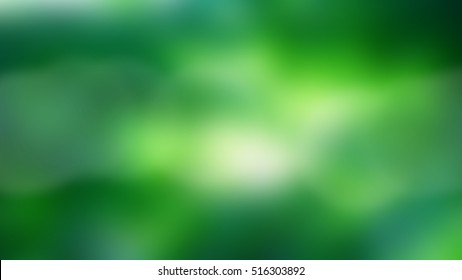 Blurred green background, texture for design, advertising banner