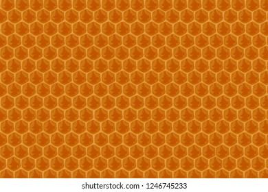 blurred honeycomb background