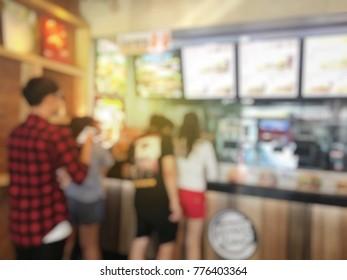 Imágenes, fotos de stock y vectores sobre Fastfood Cashier