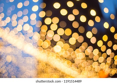Blurred light with bokeh background on fair