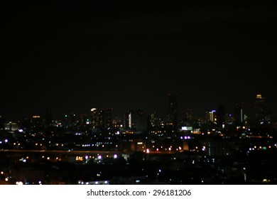 blurred light in the city ,blurred background