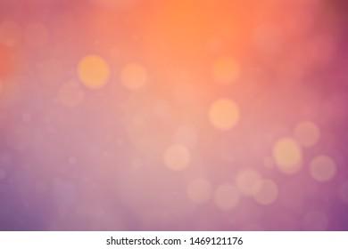 BLURRED LIGHTS BACKGROUND, FESTIVE BOKEH PATTERN, GLOWING CIRCLE DESIGN