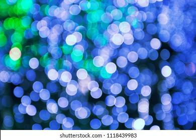 Blurred Lights Christmas