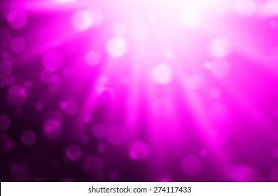 Blurred Lights on pink background or Lights on pink background.