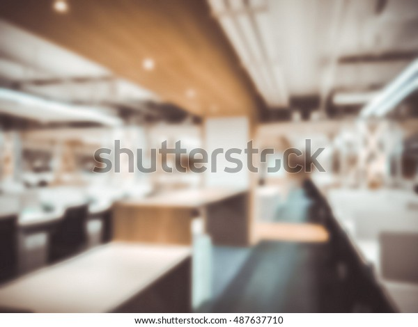 Blurred Modern Office Ideal Presentation Background Royalty Free