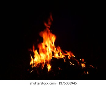Blurred natural flame flame surface for flame background