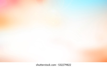 Blurred nature background,