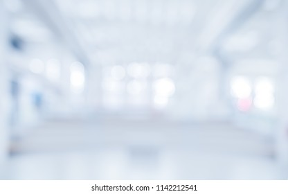 BLURRED OFFICE BACKGROUND, BLUR OF MODERN BUSINESS HALL