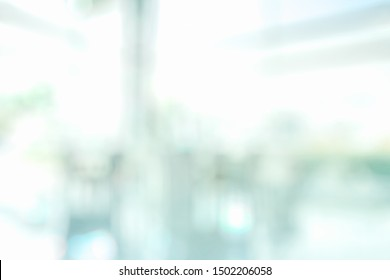 BLURRED OFFICE BACKGROUND, LIGHT BUSINESS INTERIOR