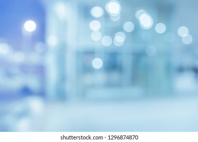 BLURRED OFFICE BACKGROUND, MEDICAL ROOM IN HOSPITAL INTERIOR