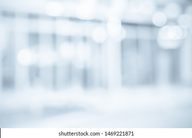 BLURRED OFFICE BACKGROUND, MODERN BUSINESS HALL